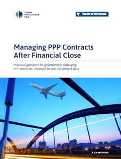 Managing ppp contracts after financial close